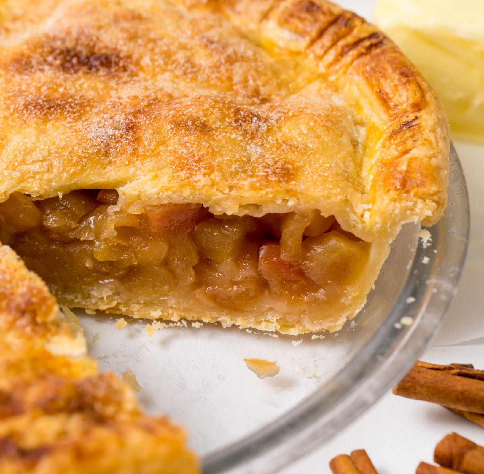 The readers have spoken. Your favorite Thanksgiving dessert is apple pie.