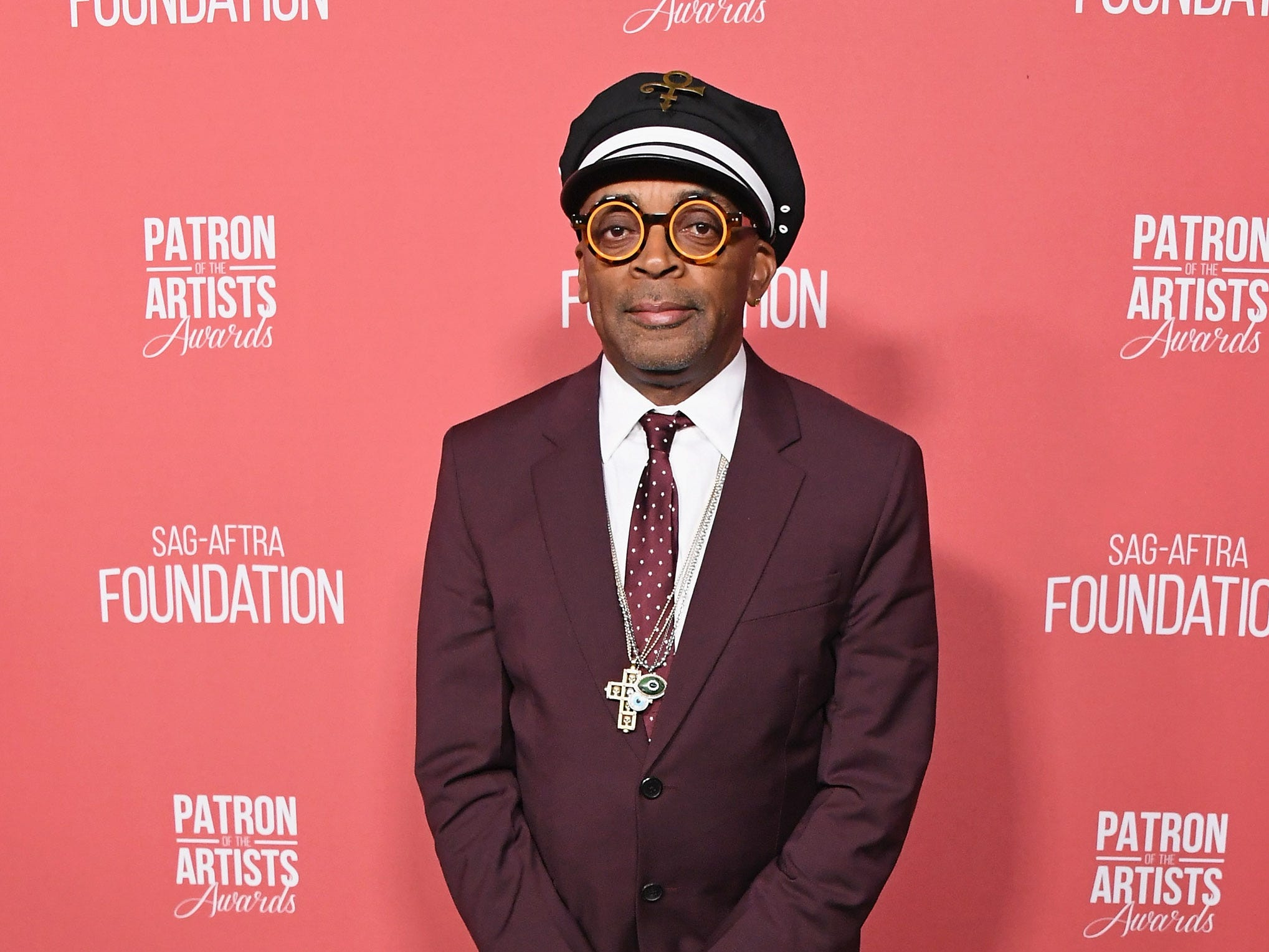 BEVERLY HILLS, CA - NOVEMBER 08:  Spike Lee attends SAG-AFTRA Foundation's 3rd Annual Patron Of The Artists Awards at Wallis Annenberg Center for the Performing Arts on November 8, 2018 in Beverly Hills, California.  (Photo by Jon Kopaloff/FilmMagic) ORG XMIT: 775233471 ORIG FILE ID: 1059469632