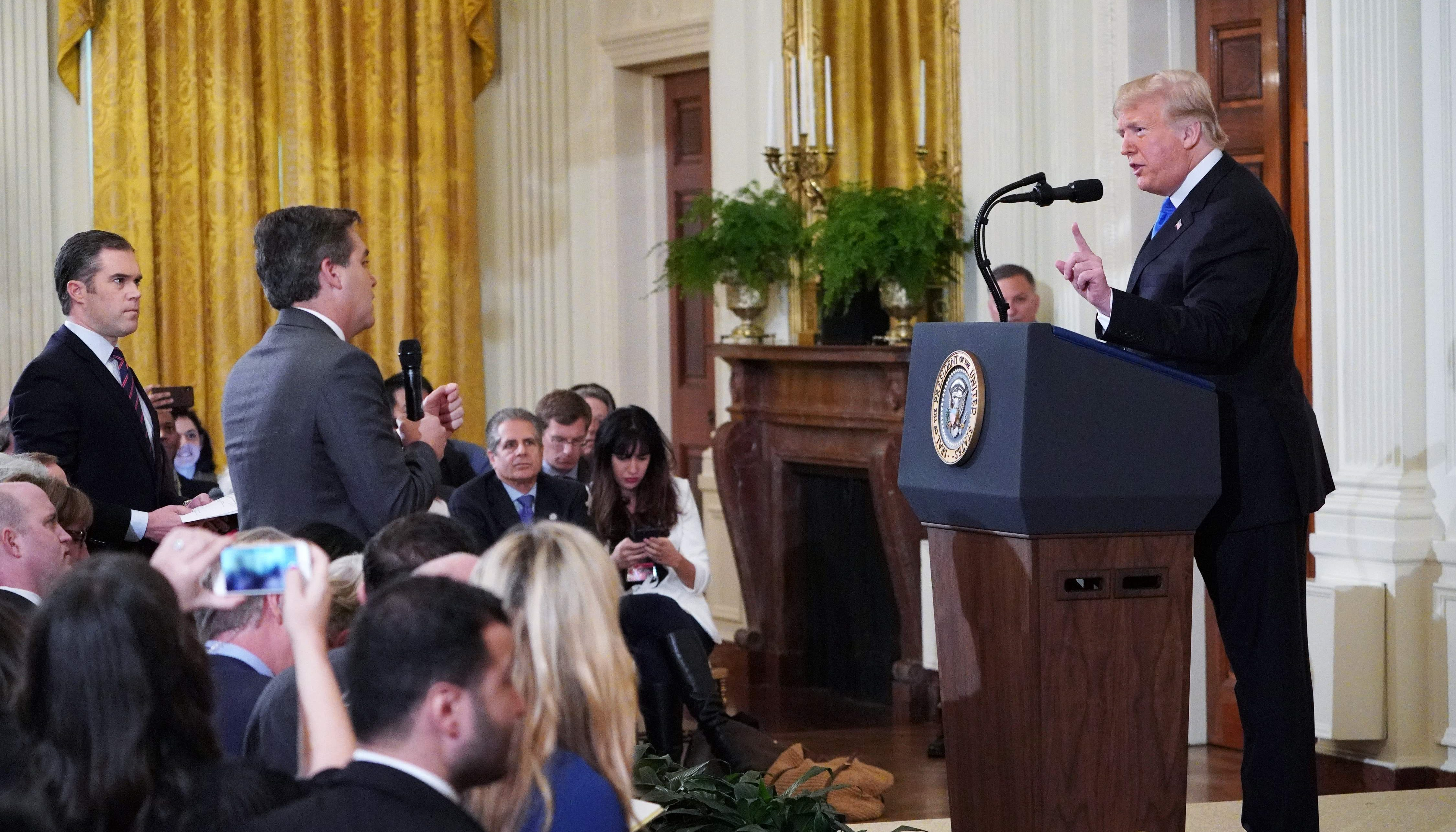 CNN reporter Jim Acosta heads 'back to work' after judge orders White House to restore his press credential