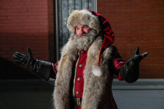 "Kurt Russell plays Santa Claus in the Netflix film ""The Christmas Chronicles."""