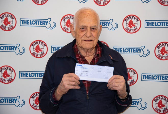 Jim Aylward Jr. of Templeton, Massachusetts, won $100,000 from the Massachusetts State Lottery by using Red Sox players' numbers.