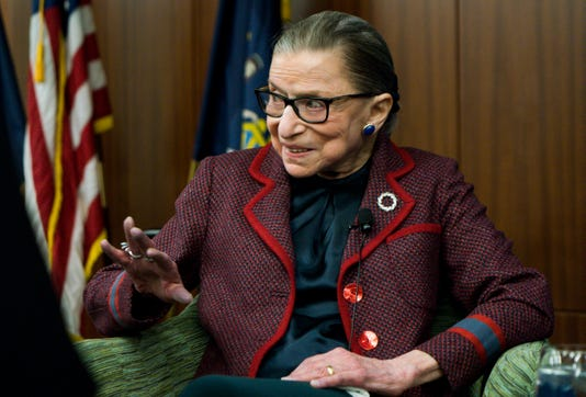 Justice Ruth Bader Ginsburg released from hospital after fracturing three ribs in fall