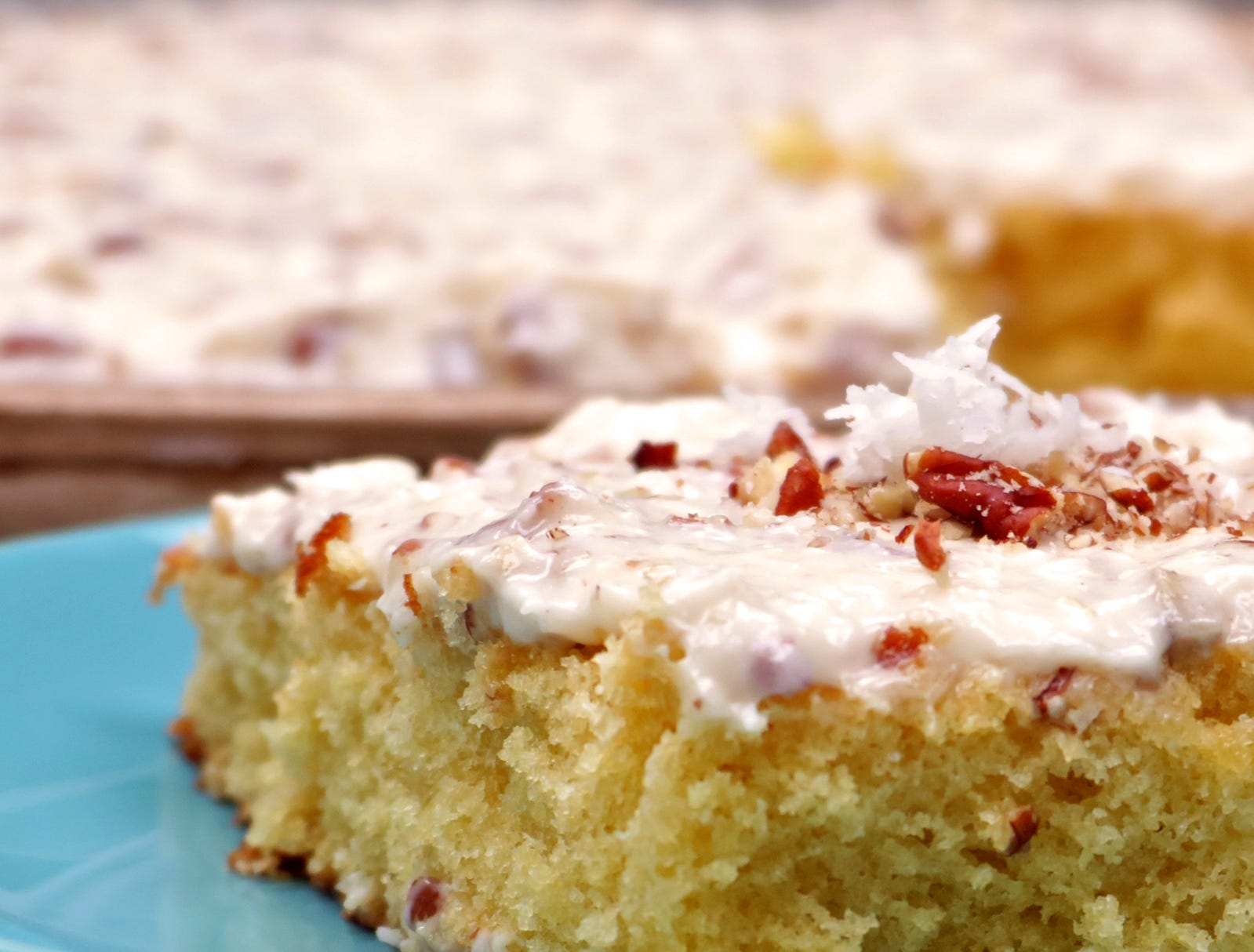 Think you can make heavenly cakes only from powdered mixes in cardboard boxes and top them only with frosting sold in round plastic tubs? This Italian cream sheet cake recipe will prove you wrong.