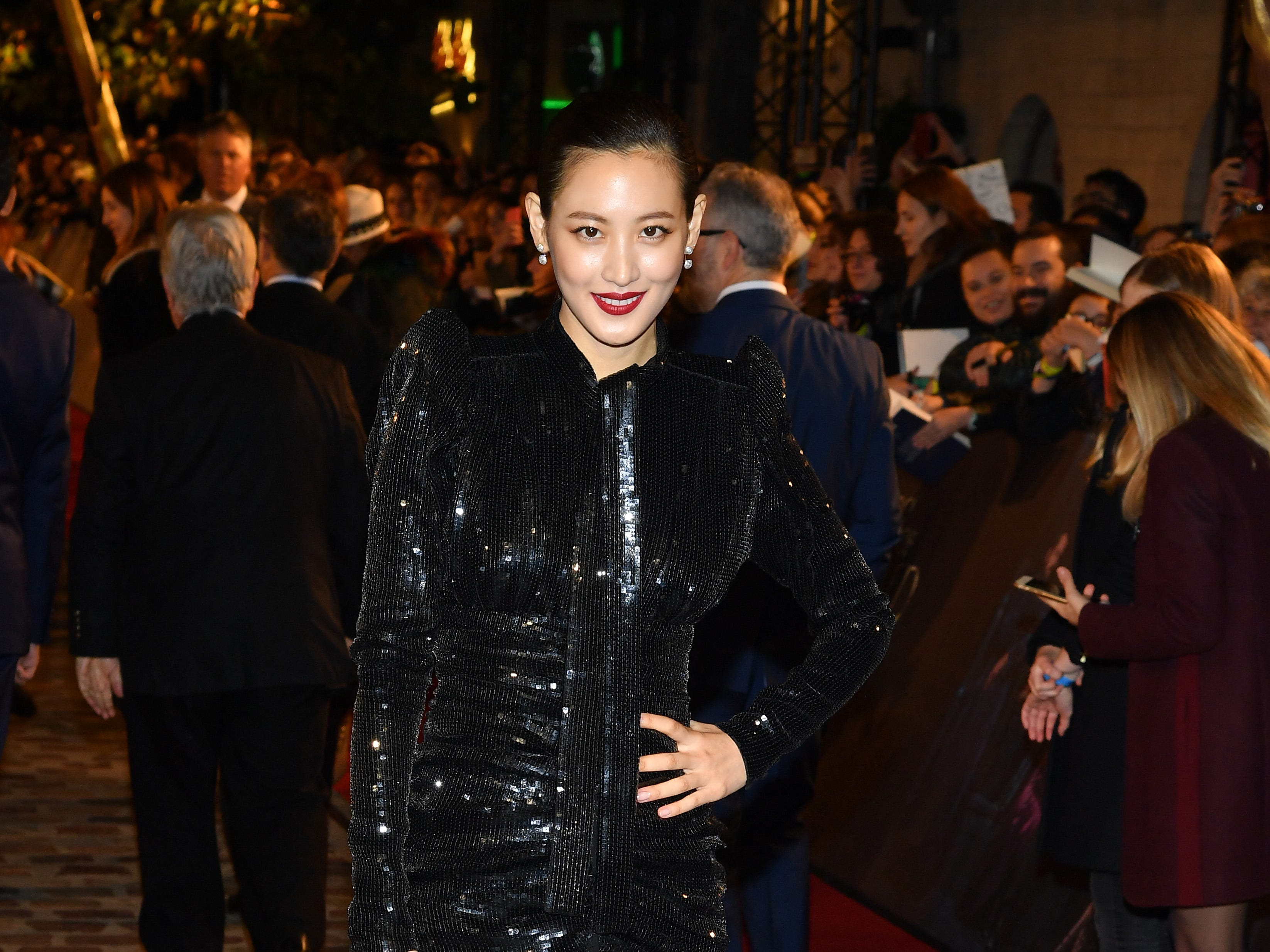 "PARIS, FRANCE - NOVEMBER 08:  Claudia Kim attends ""Fantastic Beasts: The Crimes Of Grindelwald"" World Premiere at UGC Cine Cite Bercy on November 8, 2018 in Paris, France.  (Photo by Pascal Le Segretain/Getty Images) ORG XMIT: 775255770 ORIG FILE ID: 1059193476"