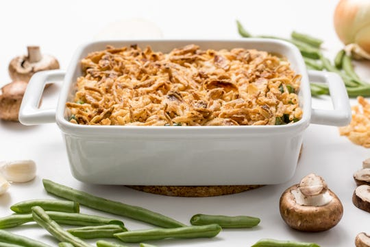 Green bean casserole is a simple and satisfying dish.