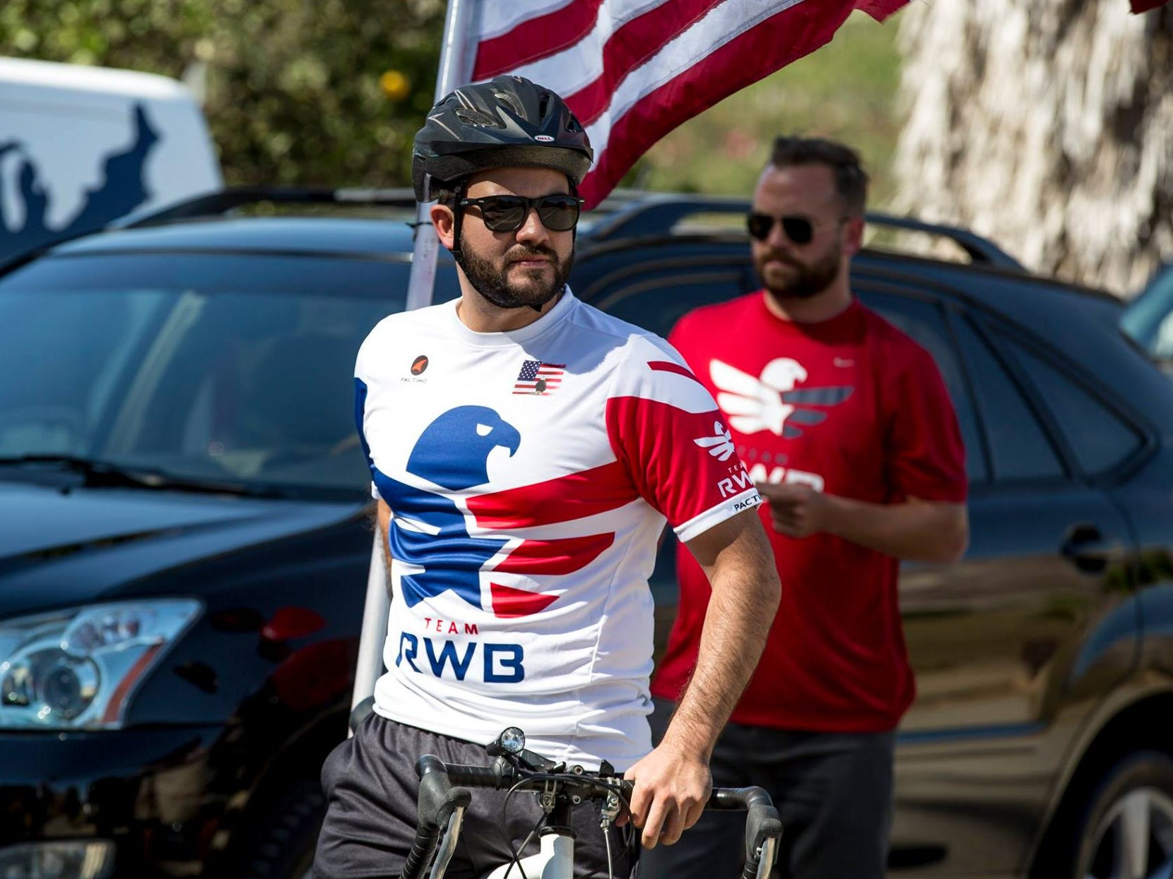 Daniel Manrique, 33, was a Marine Corps veteran who started the Ventura County chapter of Team Red, White and Blue in 2014 to help fellow veterans make the transition from military to civilian life.