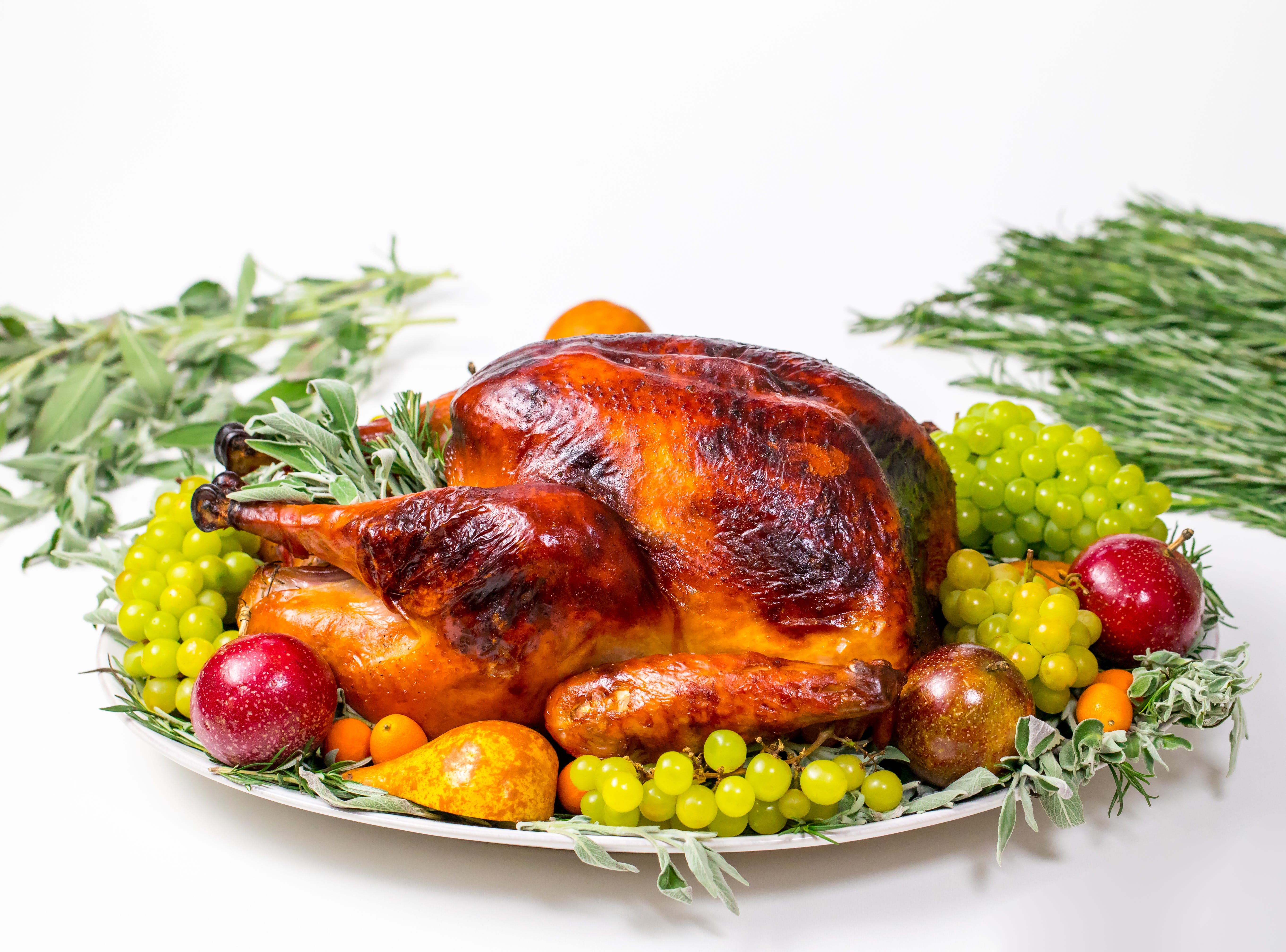 Golden, delicious and moist, this perfect roast turkey, inspired by Martha Stewart, will certainly turn heads this Thanksgiving. By using Martha Stewart's foolproof method for brining and roasting, your T-day turkey will be the showpiece it's supposed to be.