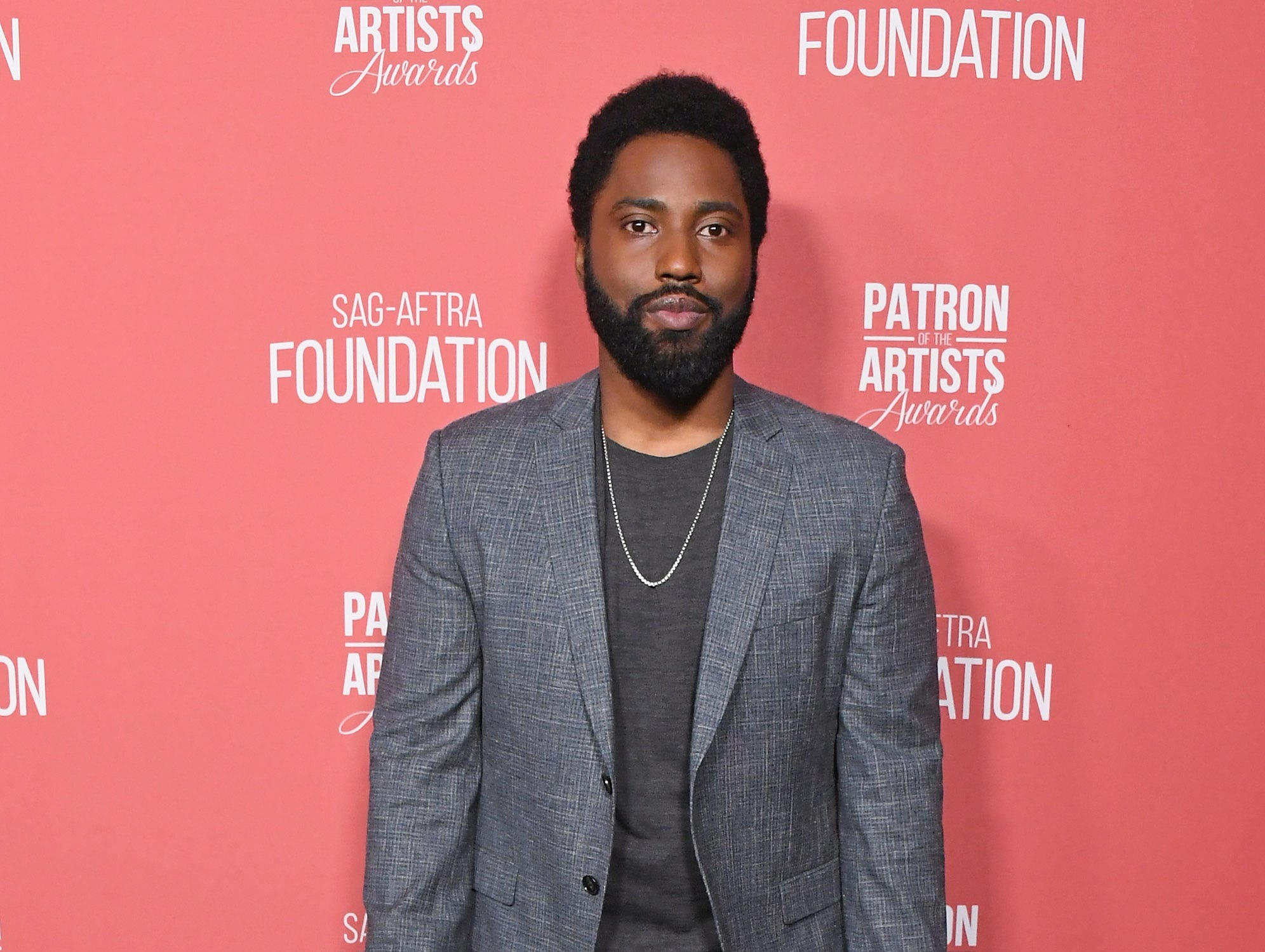 BEVERLY HILLS, CA - NOVEMBER 08:  John David Washington attends SAG-AFTRA Foundation's 3rd Annual Patron Of The Artists Awards at Wallis Annenberg Center for the Performing Arts on November 8, 2018 in Beverly Hills, California.  (Photo by Jon Kopaloff/FilmMagic) ORG XMIT: 775233471 ORIG FILE ID: 1059469416