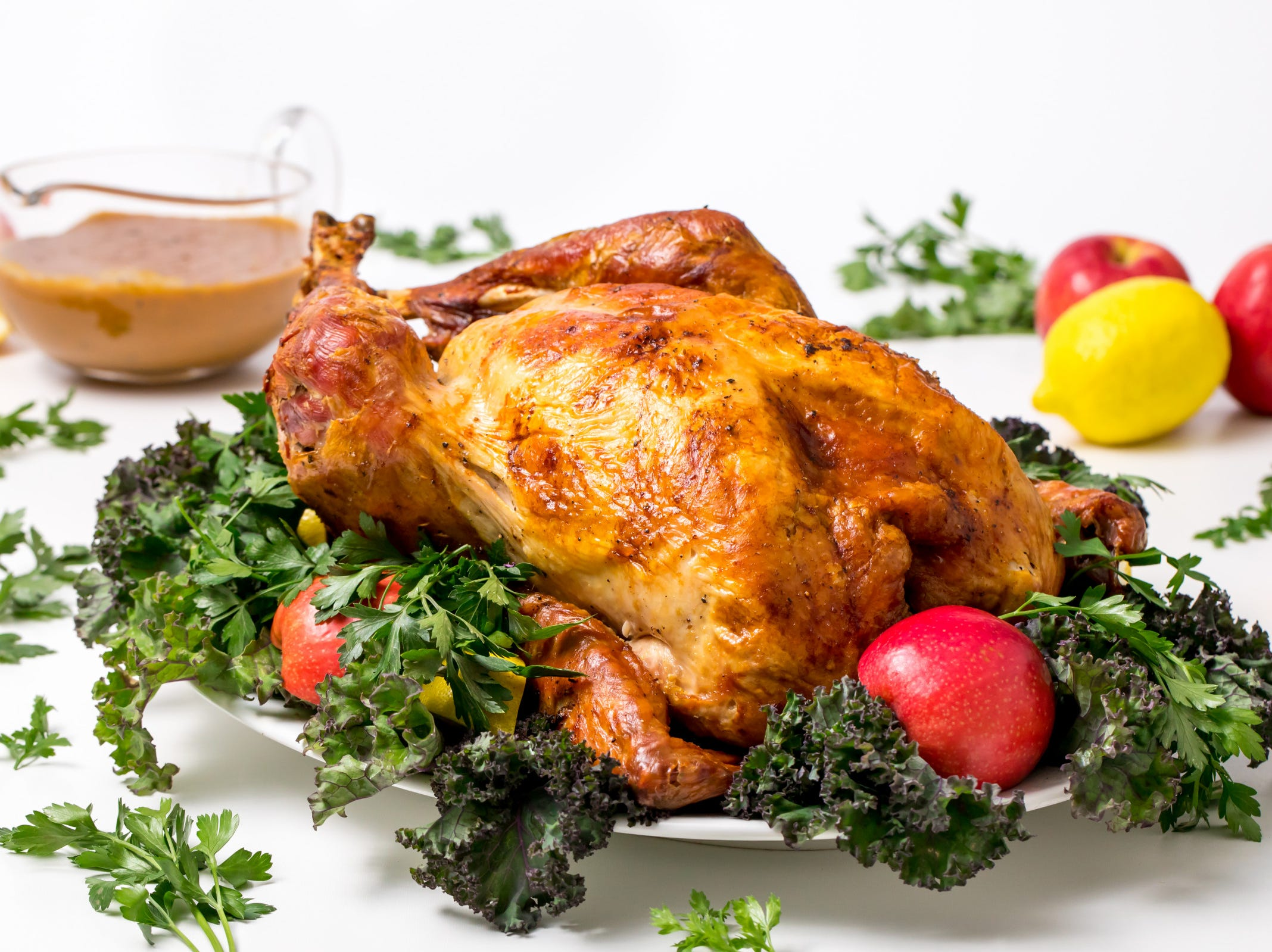When enthusiasm wanes for the traditional roast turkey recipe, reach for the tried and true recipes of renowned food greats. This James Beard roasted turkey recipe, inspired by James Beard, honors the great American cook's gourmet-style approach to the Thanksgiving bird.