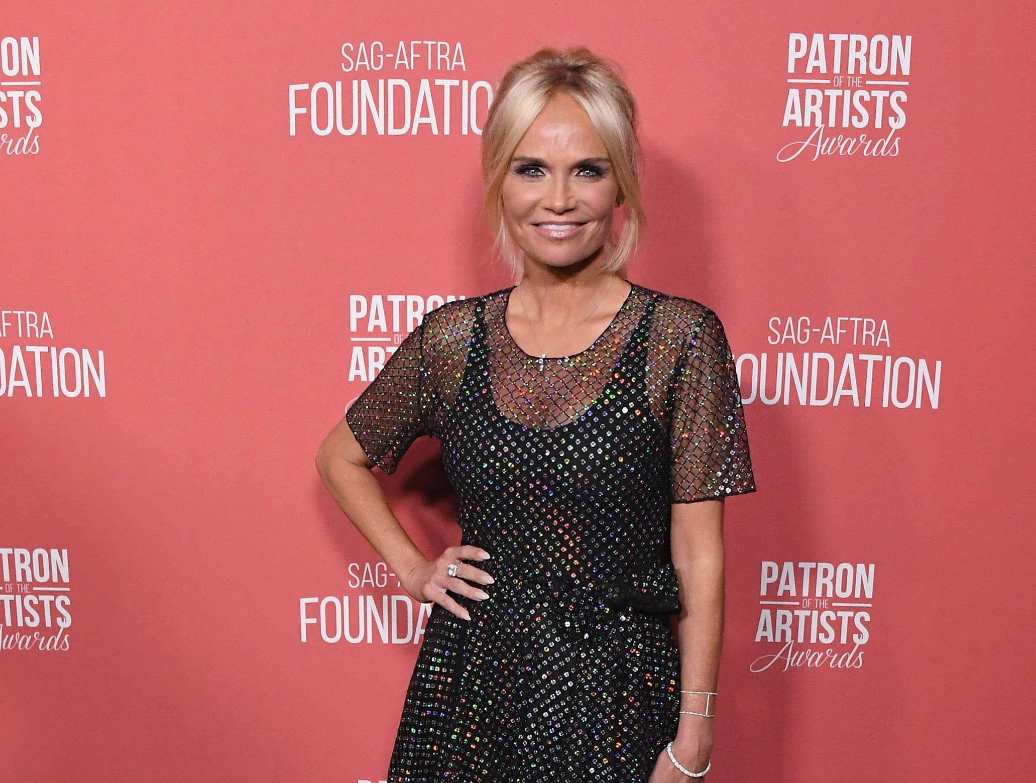 BEVERLY HILLS, CA - NOVEMBER 08:  Kristin Chenoweth attends SAG-AFTRA Foundation's 3rd Annual Patron Of The Artists Awards at Wallis Annenberg Center for the Performing Arts on November 8, 2018 in Beverly Hills, California.  (Photo by Jon Kopaloff/FilmMagic) ORG XMIT: 775233471 ORIG FILE ID: 1059469396