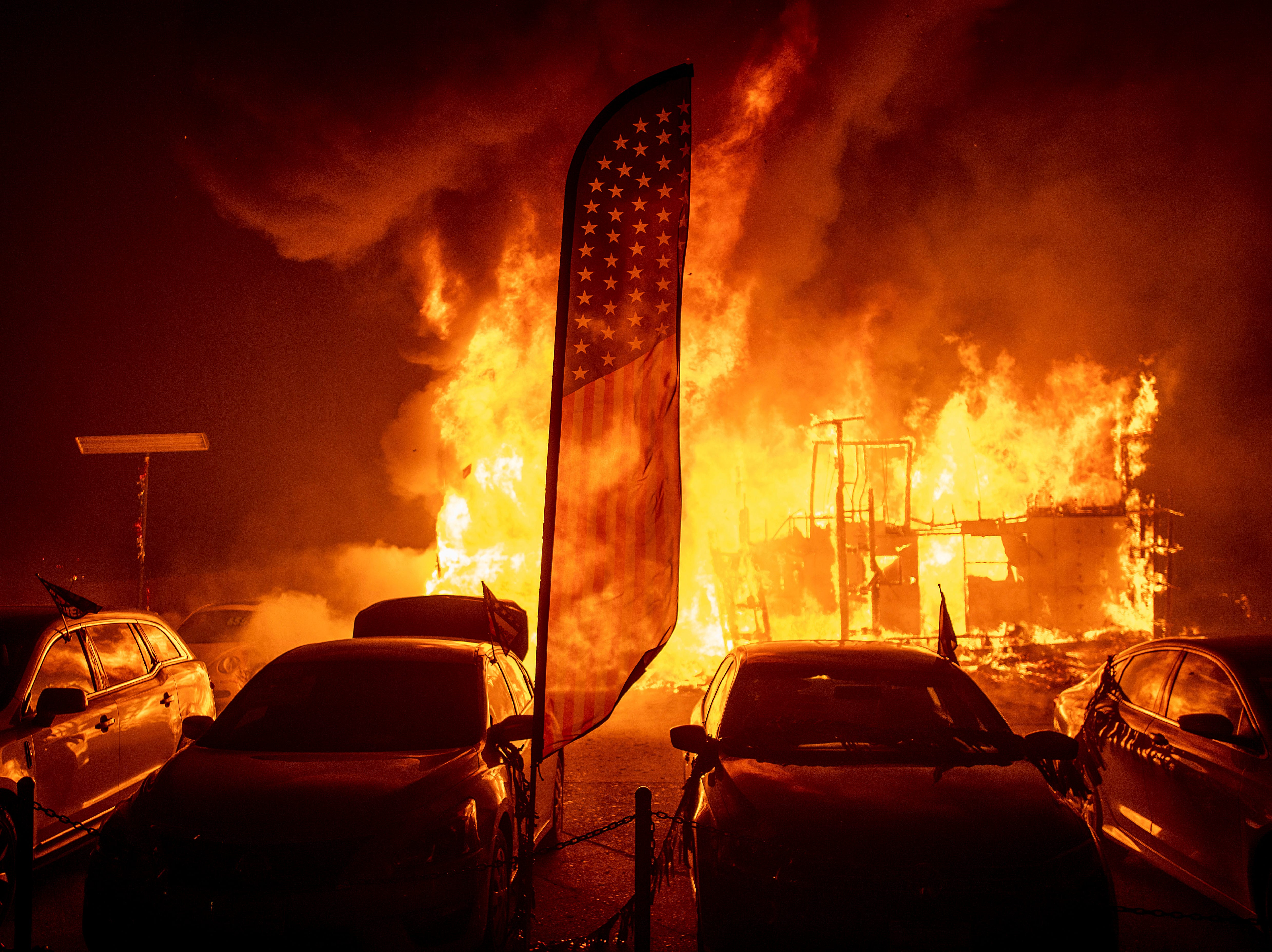 Raging California fires: Why have the flames spread so quickly?