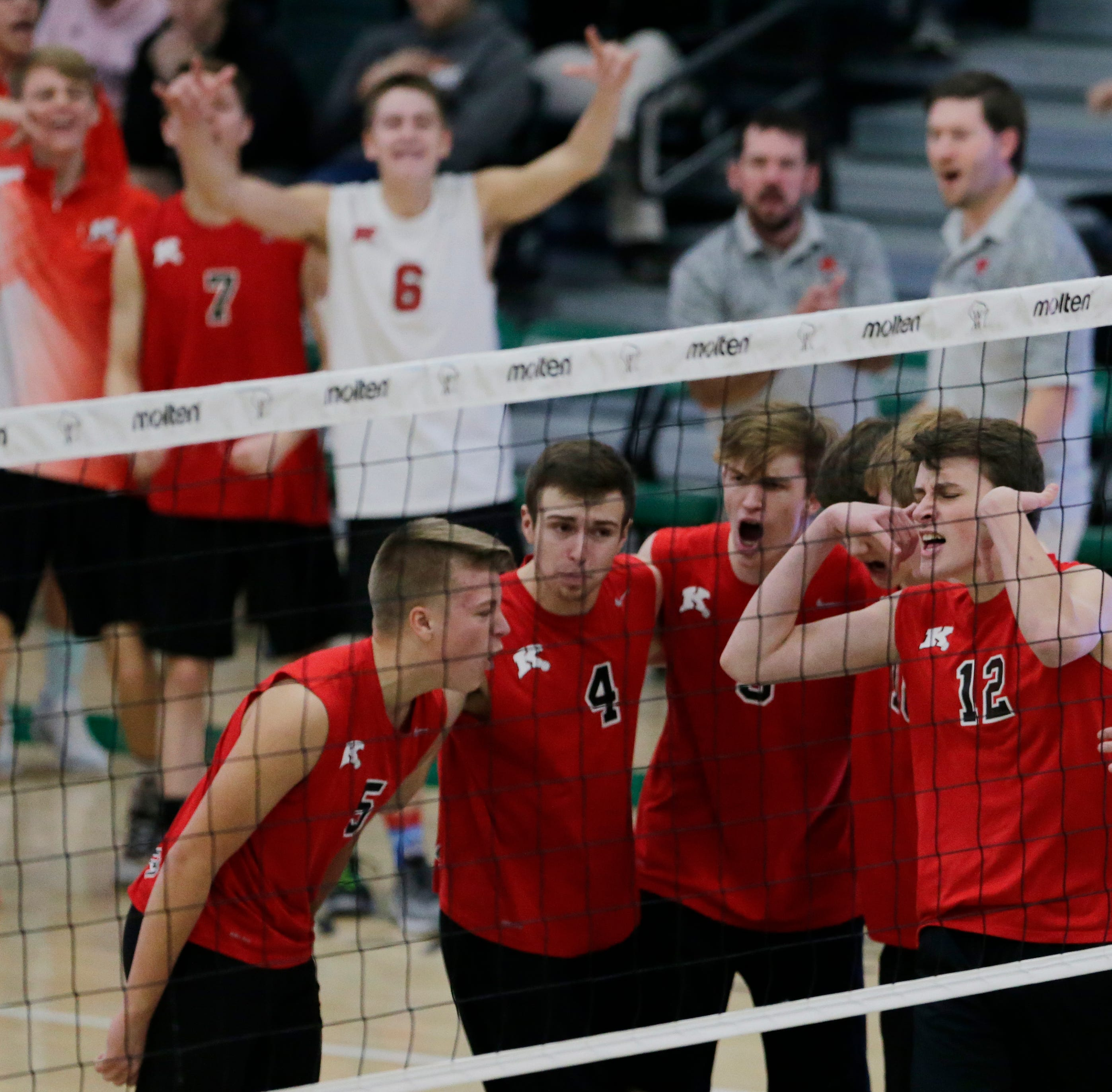 Papermakers fall to Germantown in WIAA boys volleyball championship