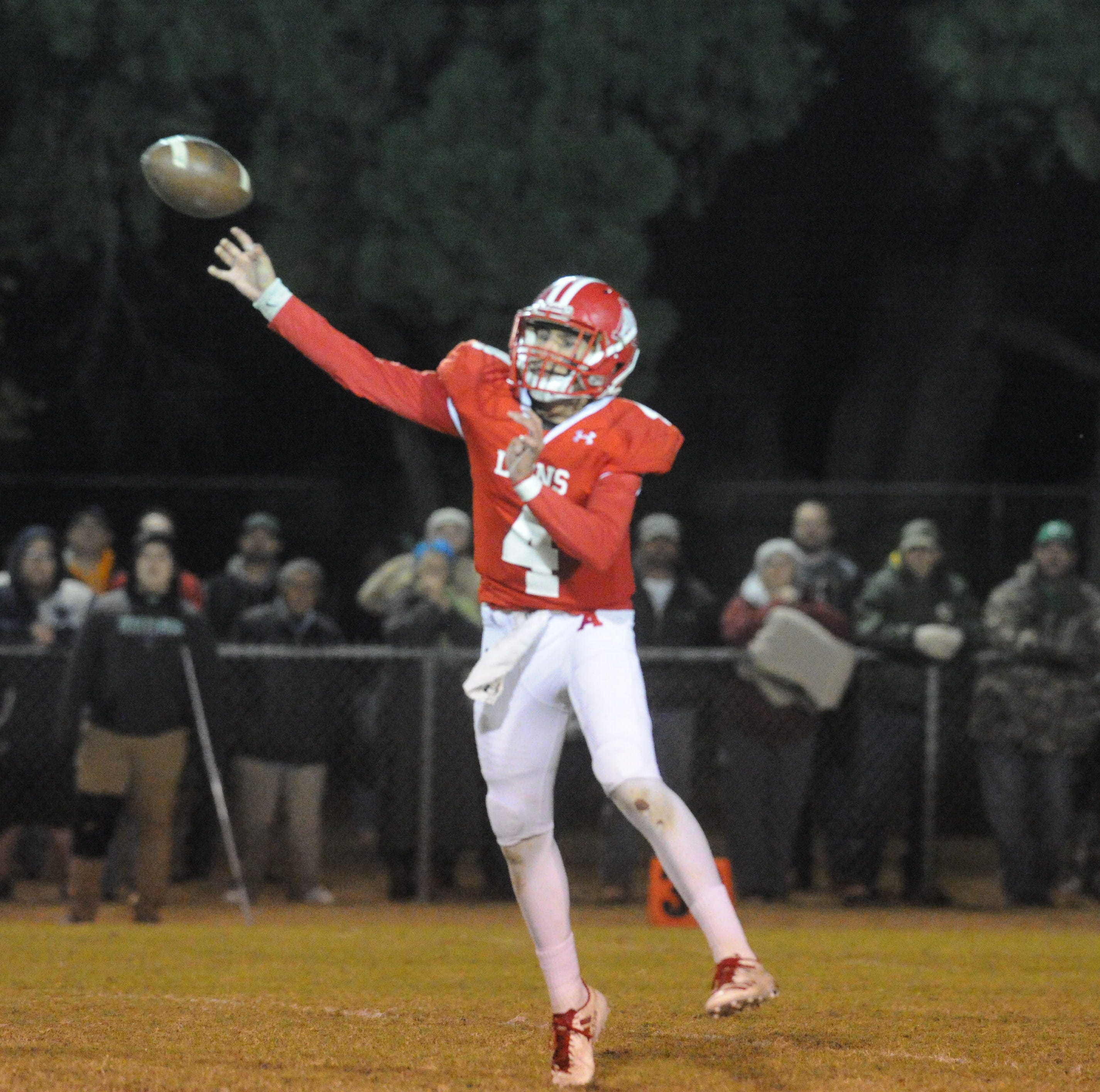Late TD pass lifts Albany football past Hamlin in wild district championship