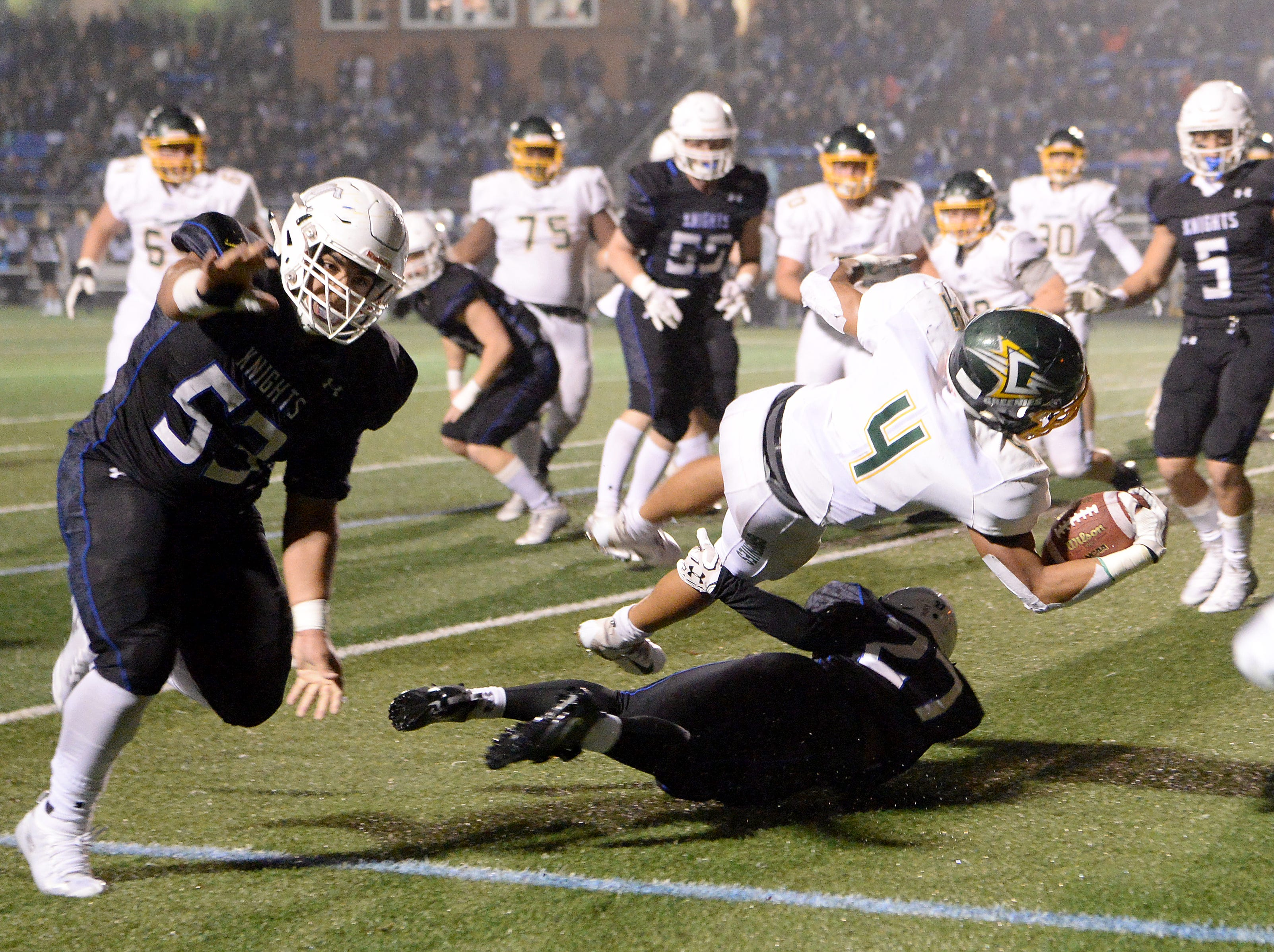 Five Christ School players named to all-state first team