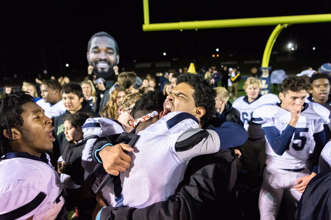 The Asheville School football team hosted Southlake Christian for their second round semifinals Friday night football game Nov. 9, 2018. Asheville School won 33-28 advancing them to the NCISAA Division III state championship game.