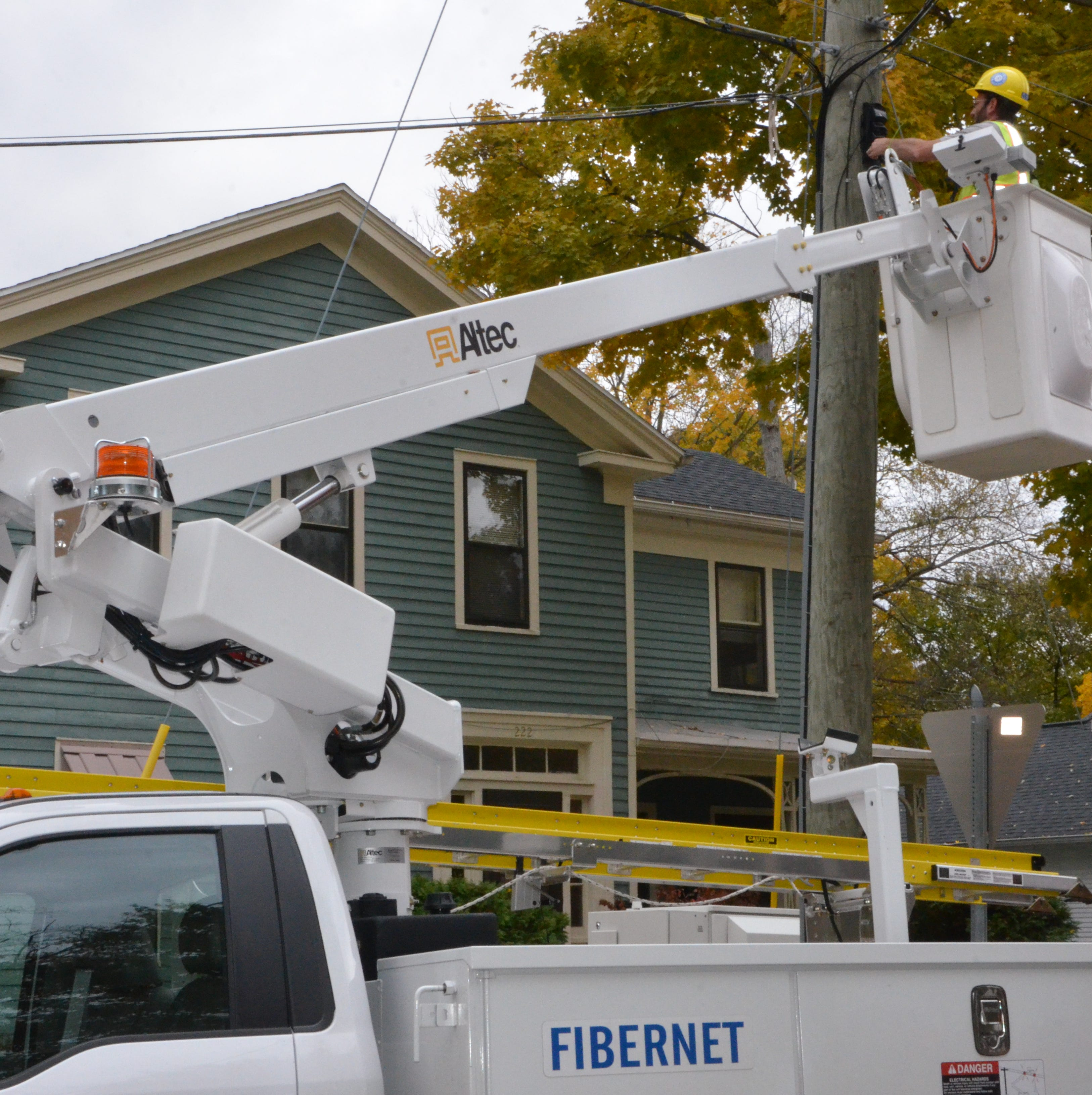 Internet service in Marshall was slow, so the city built its own fiber-optic network