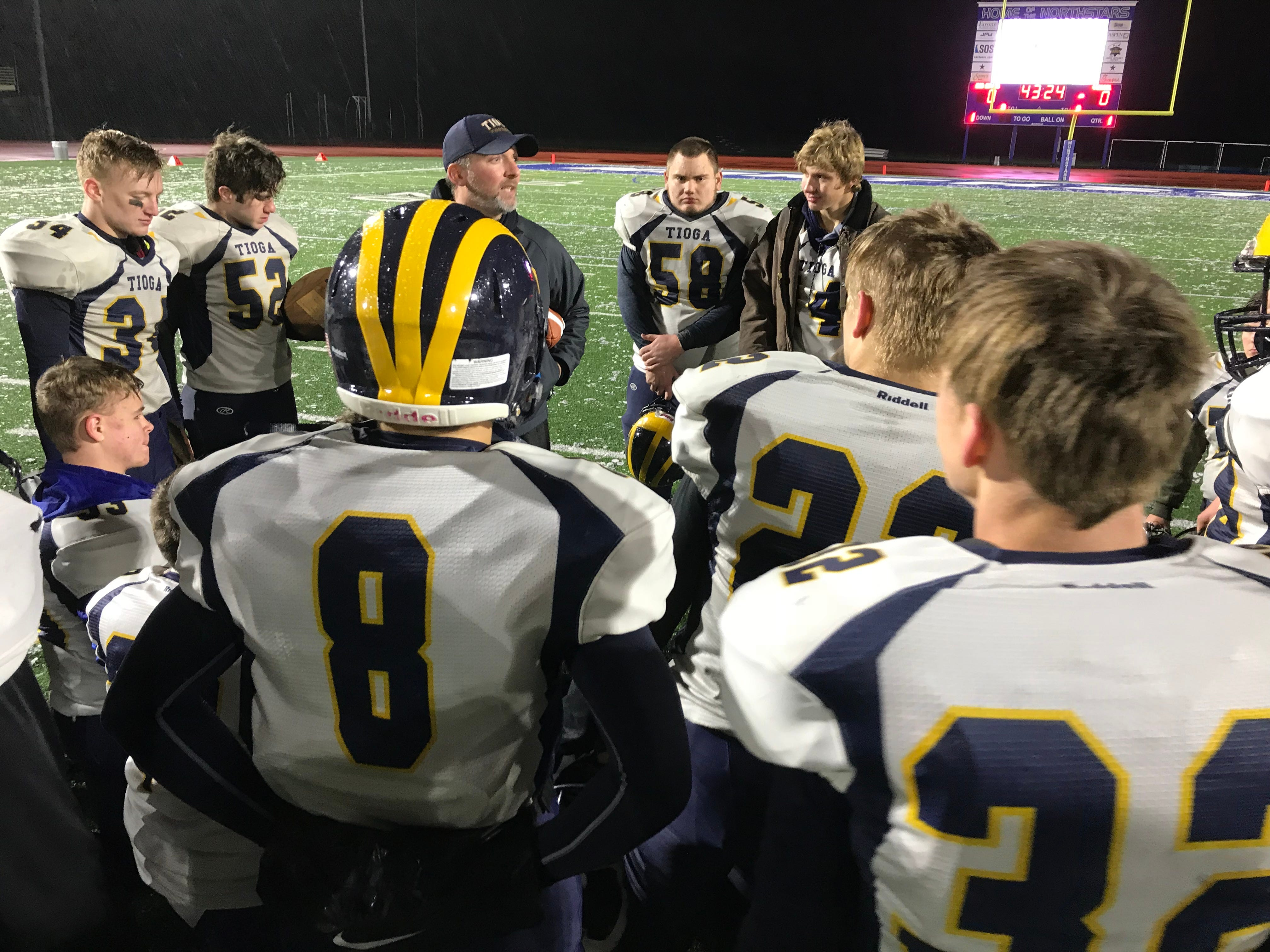 HS Football: Tioga rolls into state semifinal