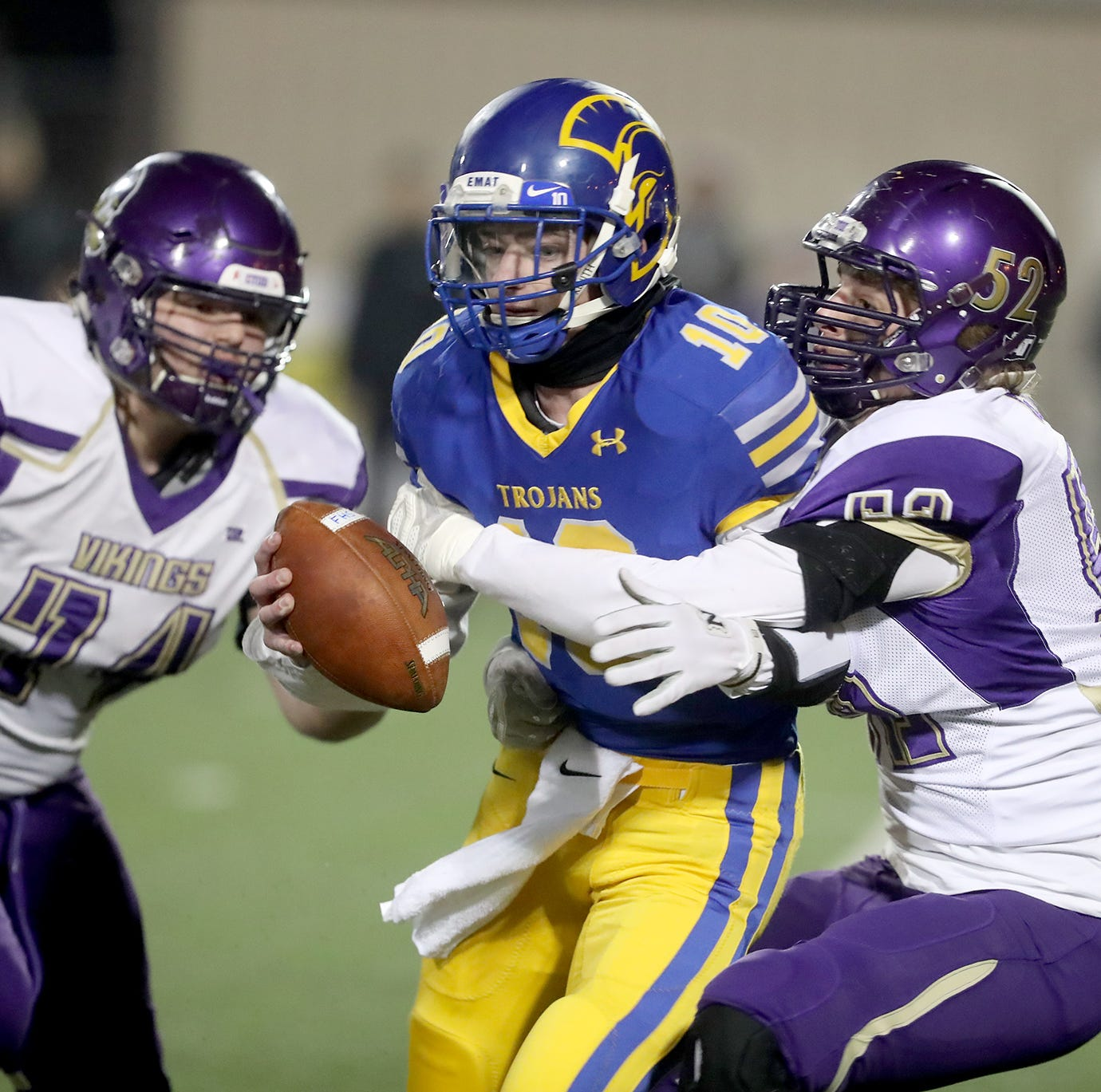 Fife ends North Kitsap's season with late field goal