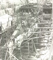 Construction of O-Two, dated 1918.