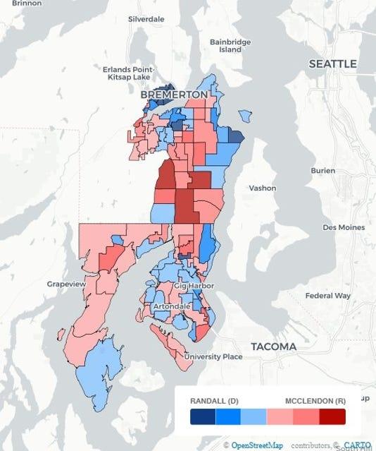 Election Map - 26th Senate gray