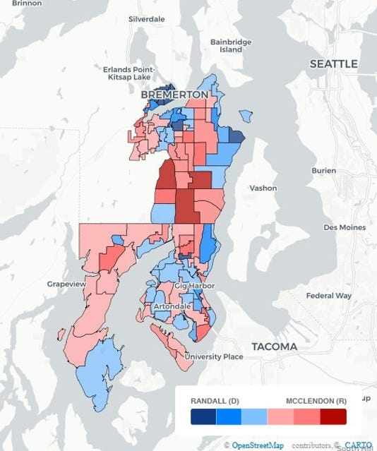 Election Map - 26th Senate gray