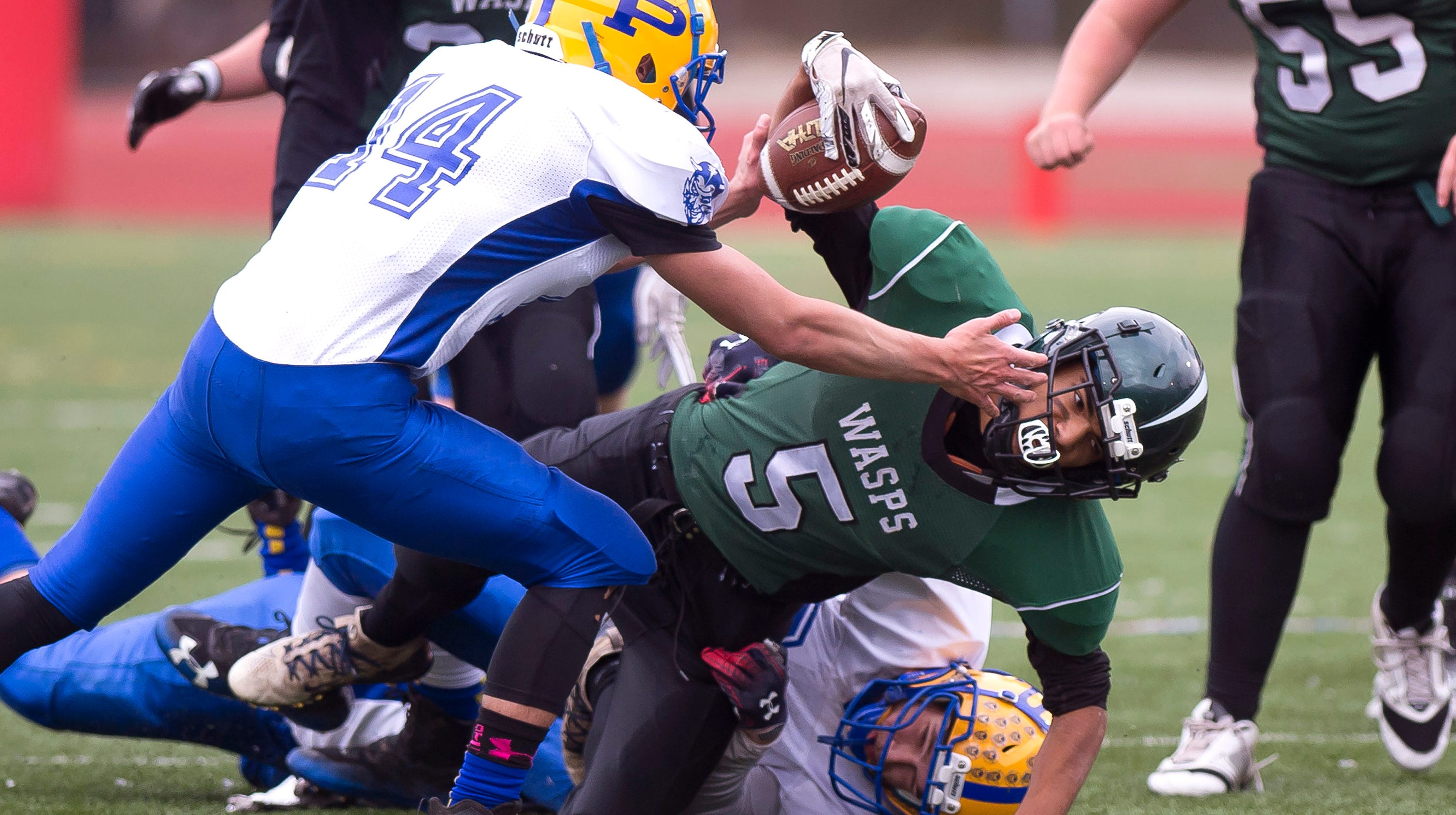 2018 Vermont H S  football coaches' all-state teams