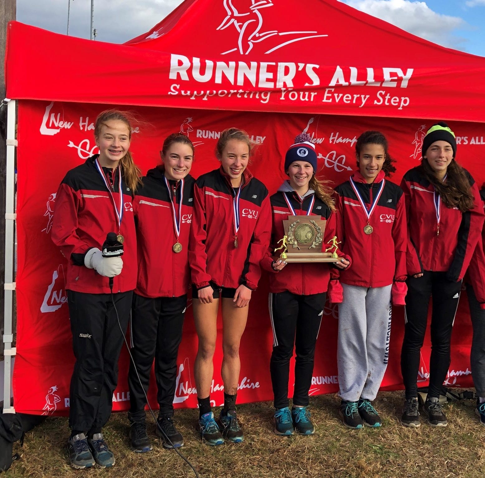 CVU girls storm to New England cross-country running championship