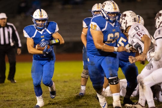 Odem defeated London 28-27 to win the 16-3A D-II title at Owl Stadium in Odem Friday, Nov. 9, 2018.