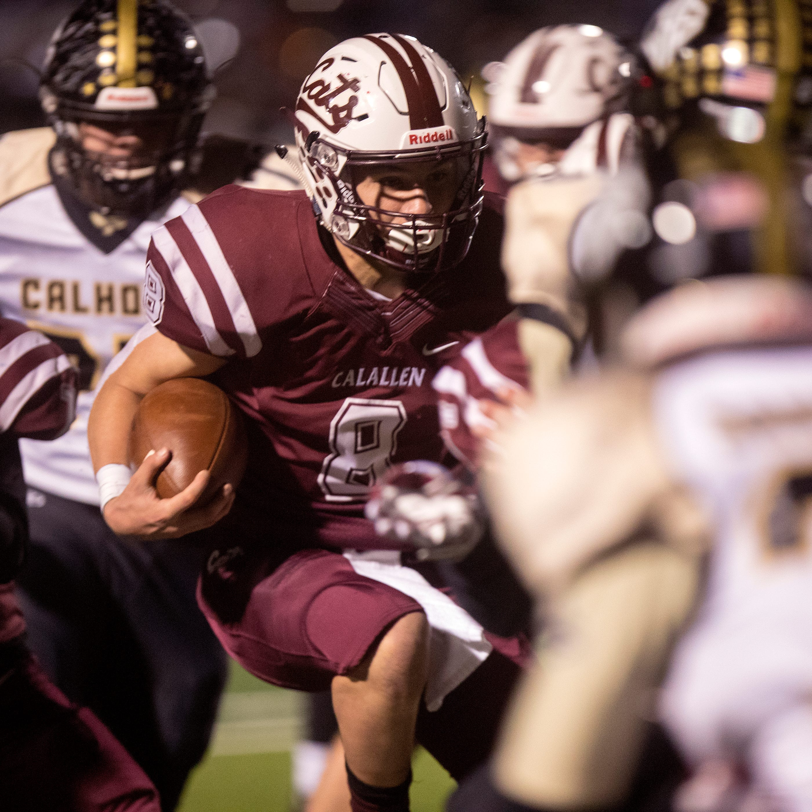 Jarrett Garza aspires to help Calallen go farther than his dad did in four Wildcats seasons
