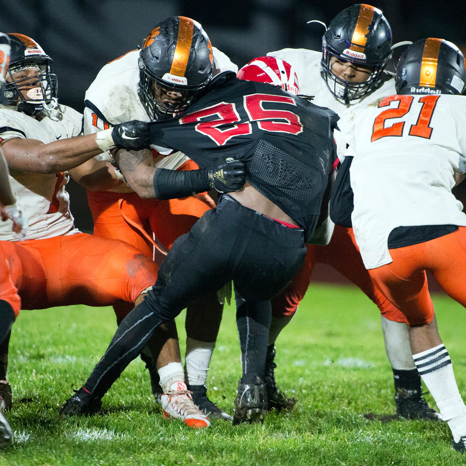 South Jersey football: Woodrow Wilson runs over Delsea to reach sectional final