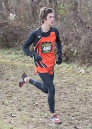 Waverly High School's only runner in the state cross-country meet Aidan Judd finished 90th overall with a time of 17:48.0.