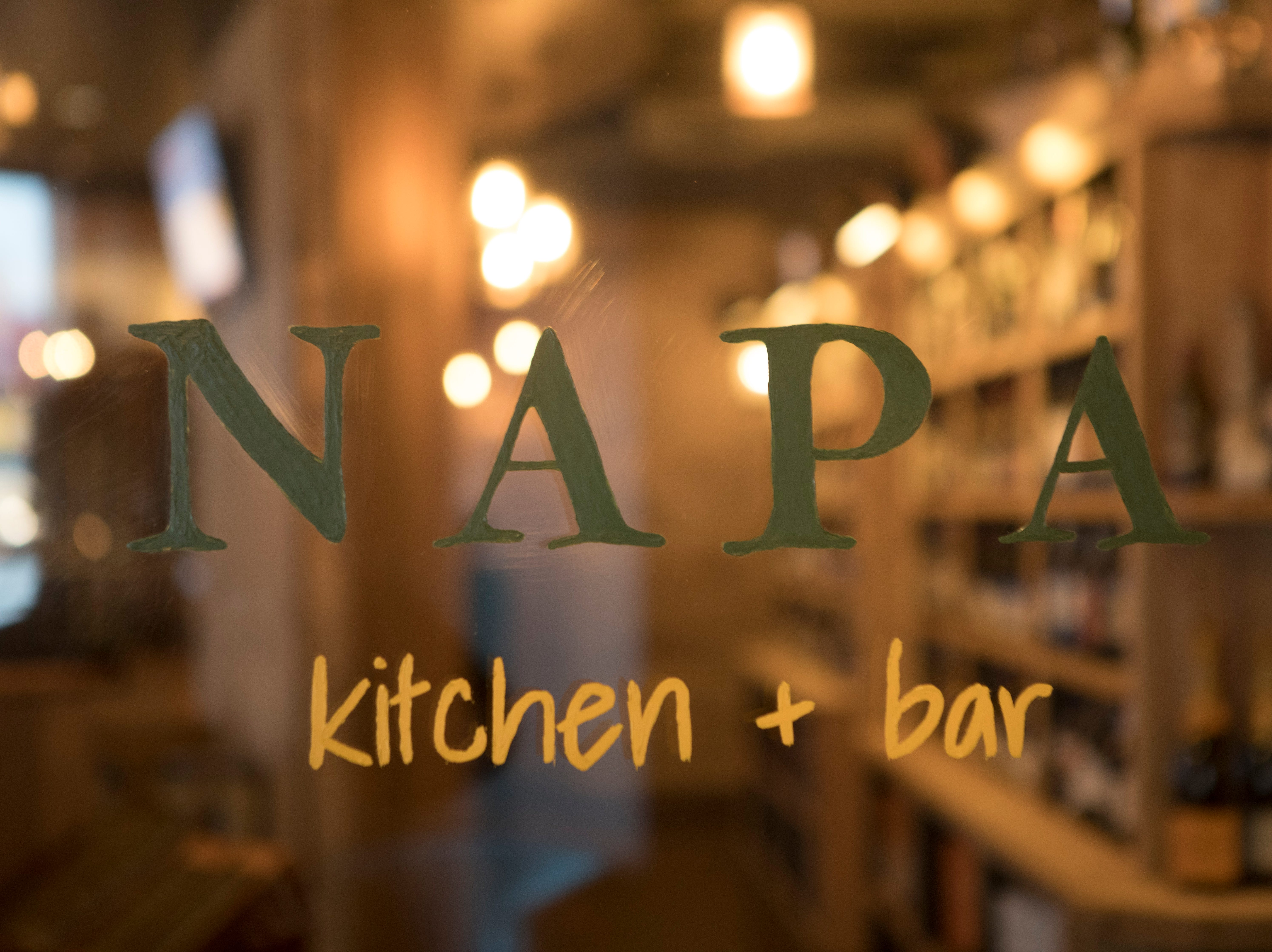 A view of Napa kitchen + bar dinning areas on Friday, Nov. 9, 2018 in Montgomery.