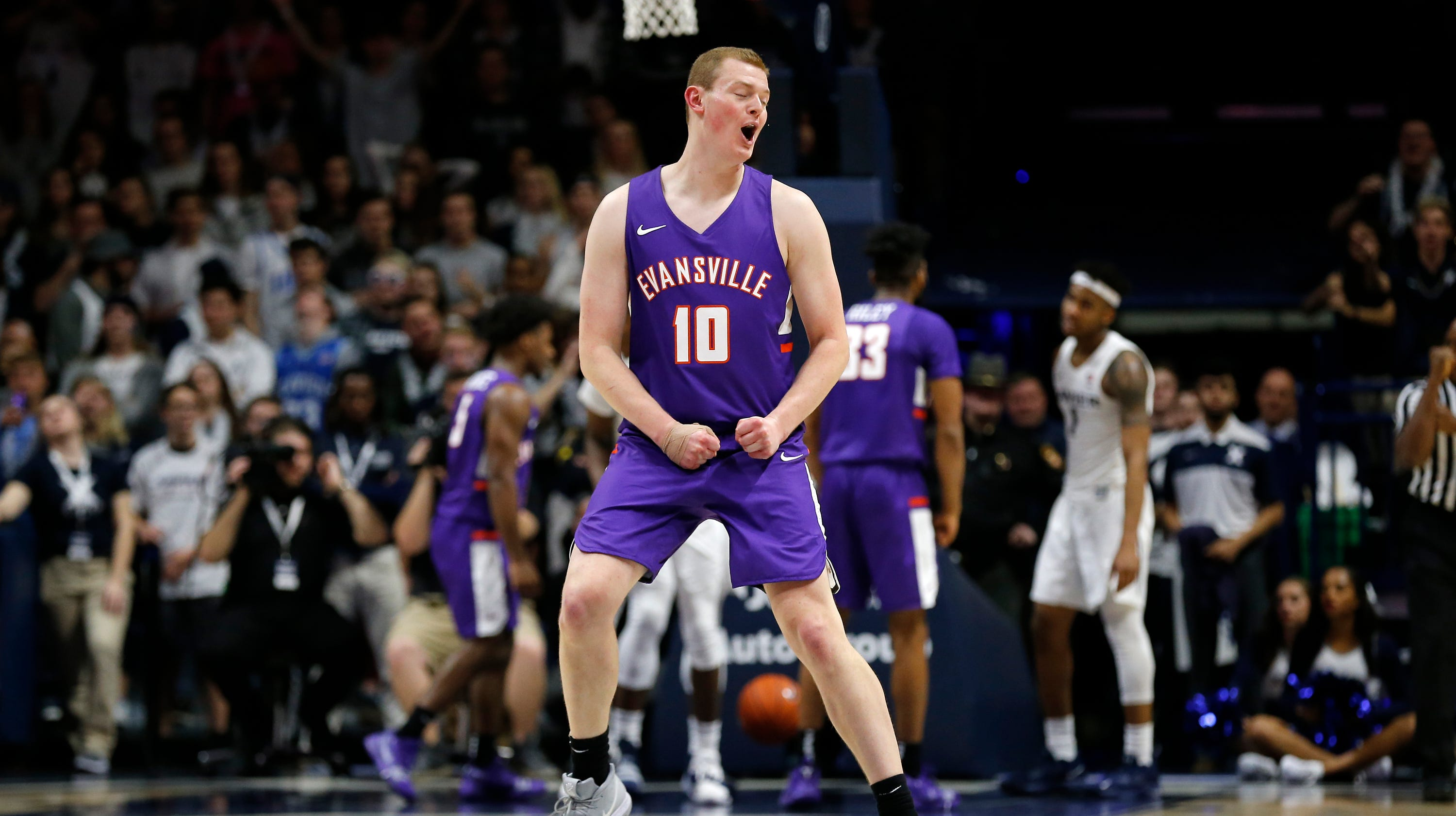 ce2284d9c0f Evansville basketball can use close loss to Xavier as a moral victory
