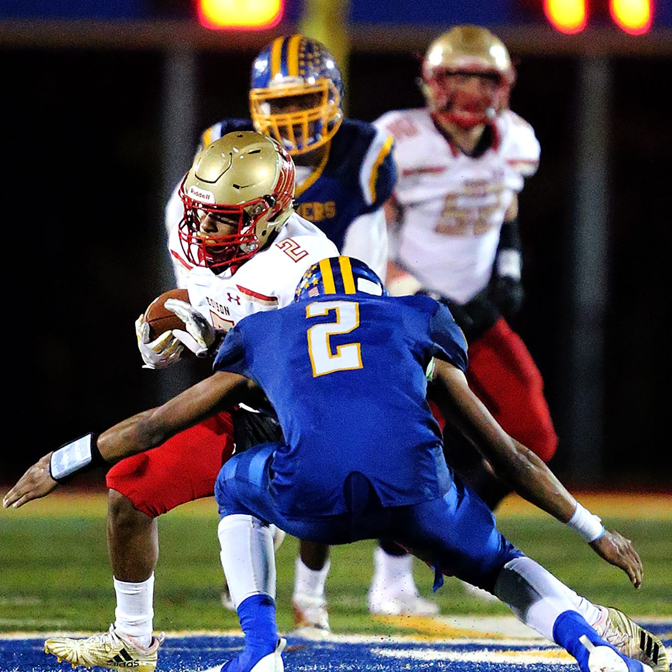 NJ football: Bailey rushes for career record as North Brunswick reaches sectional final