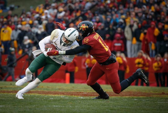 "Iowa State safety Greg Eisworth is impressed with this Cyclones team's maturity. ""It helps us staying humble and understanding that preseason rankings never meant anything to us before, and they shouldn't now,"" he said."
