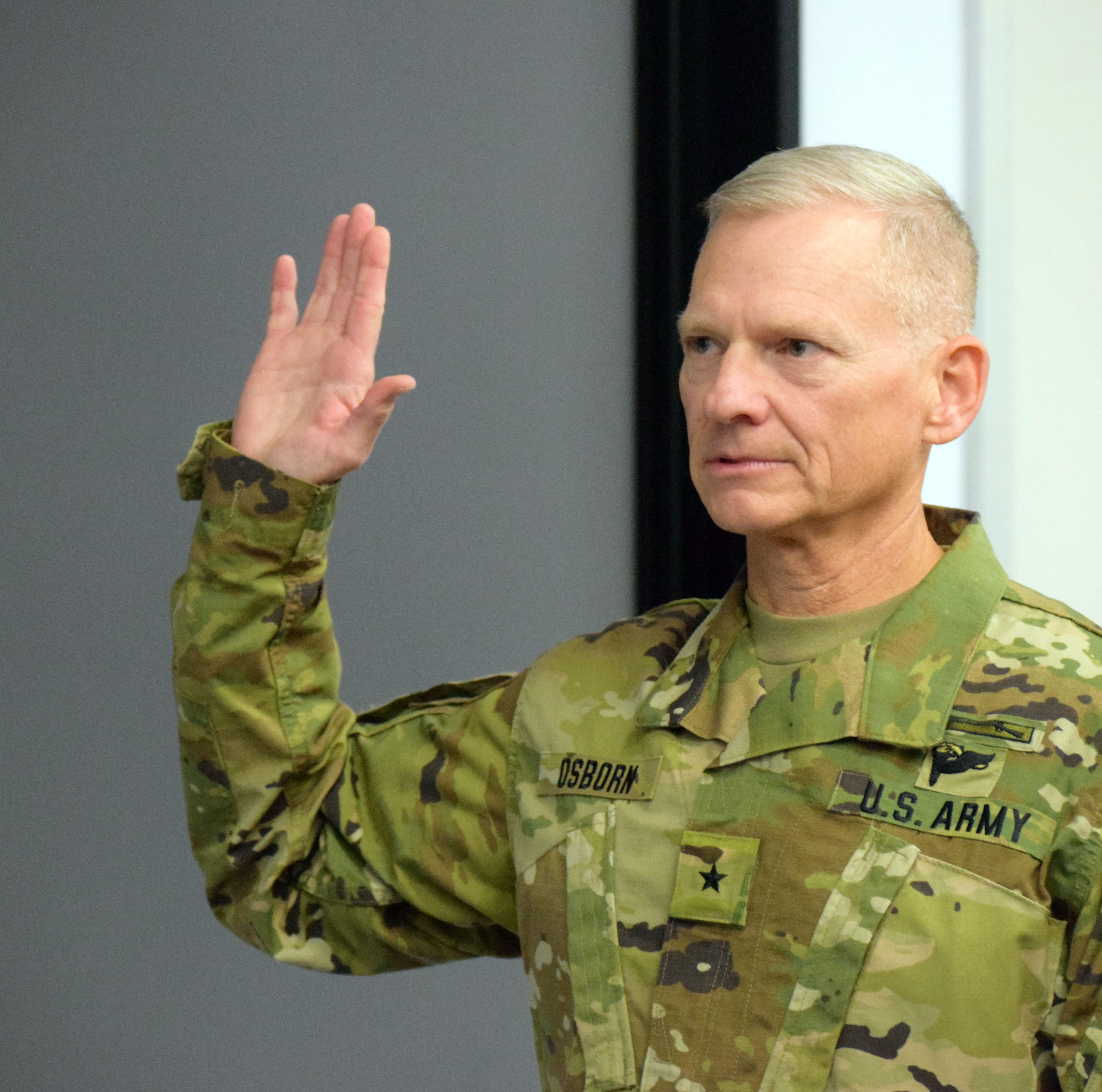 Iowa National Guard promotes Johnston man to brigadier general