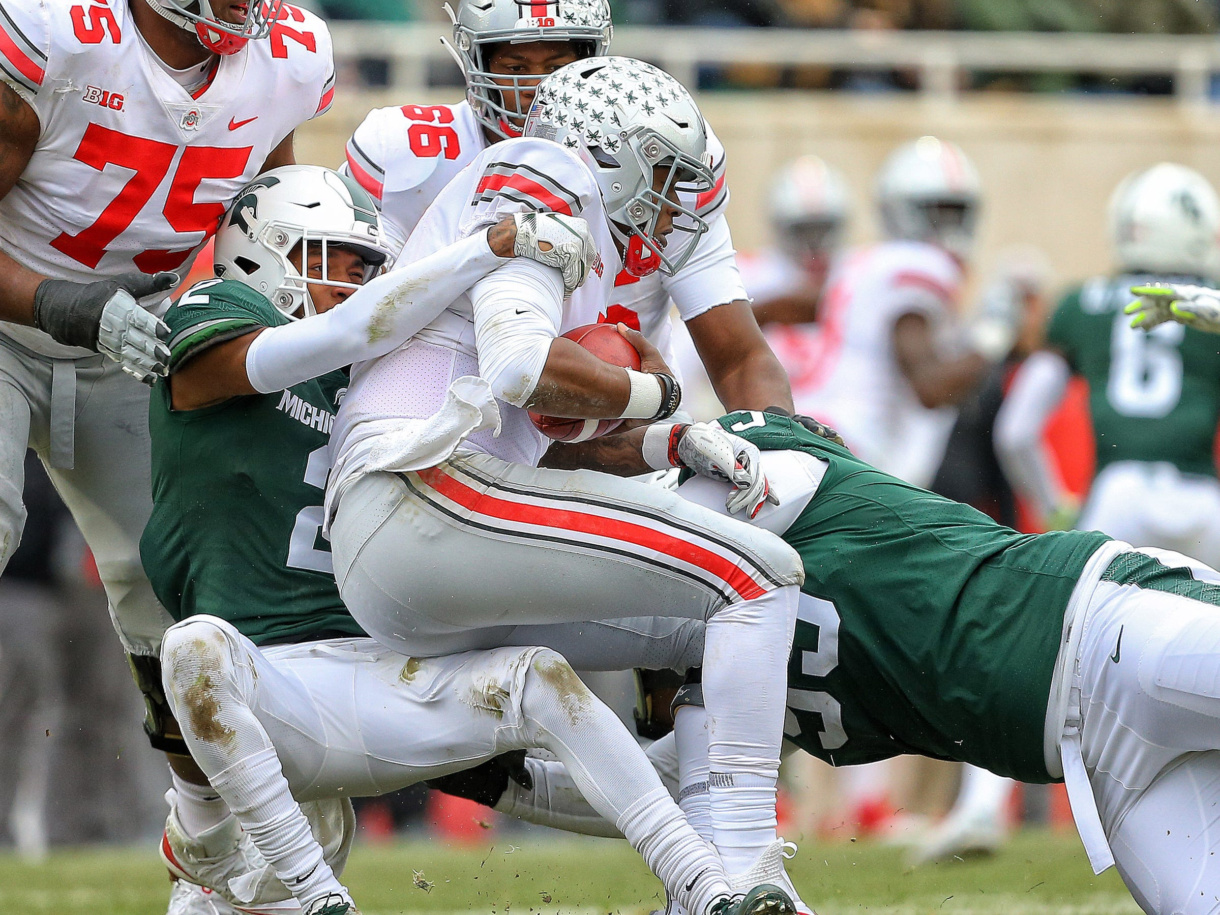 Michigan State botched a lot vs. Ohio State, including Rose Bowl chance