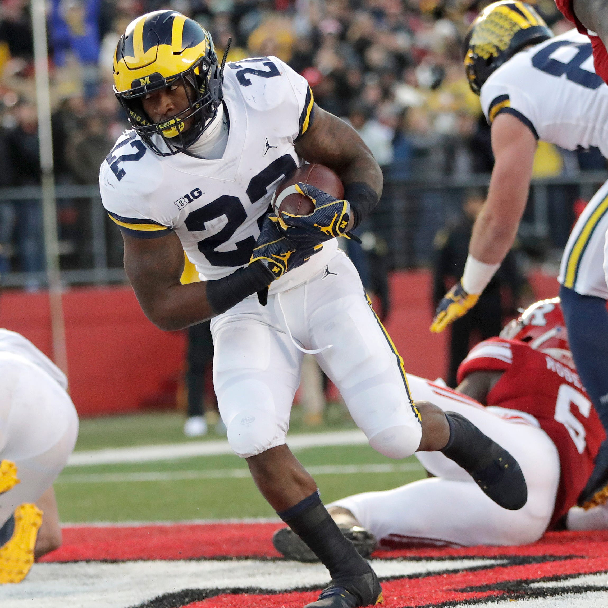 Michigan football's Karan Higdon guarantees win over Ohio State