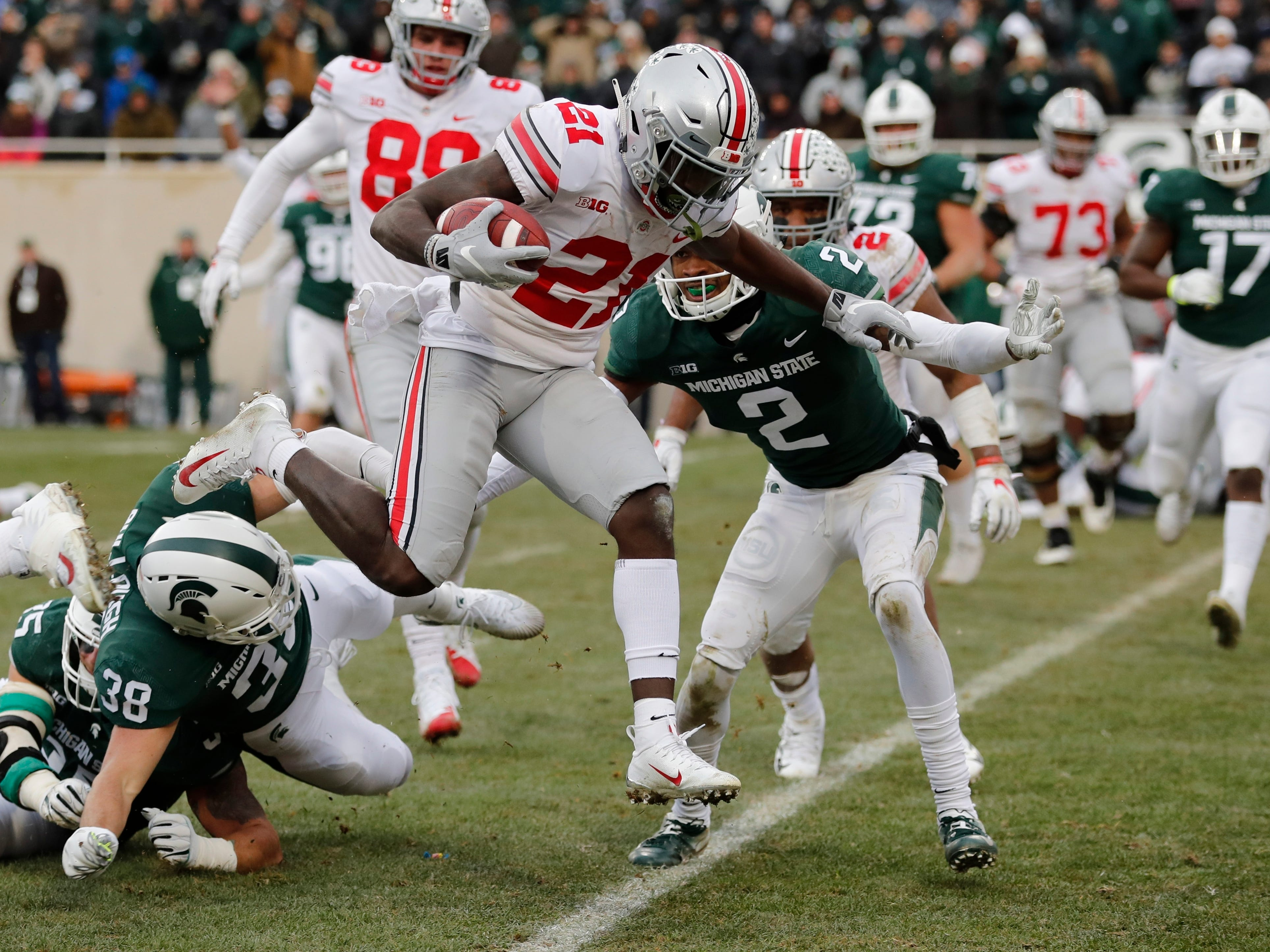 Michigan State football vs. Ohio State reacts: That went downhill fast