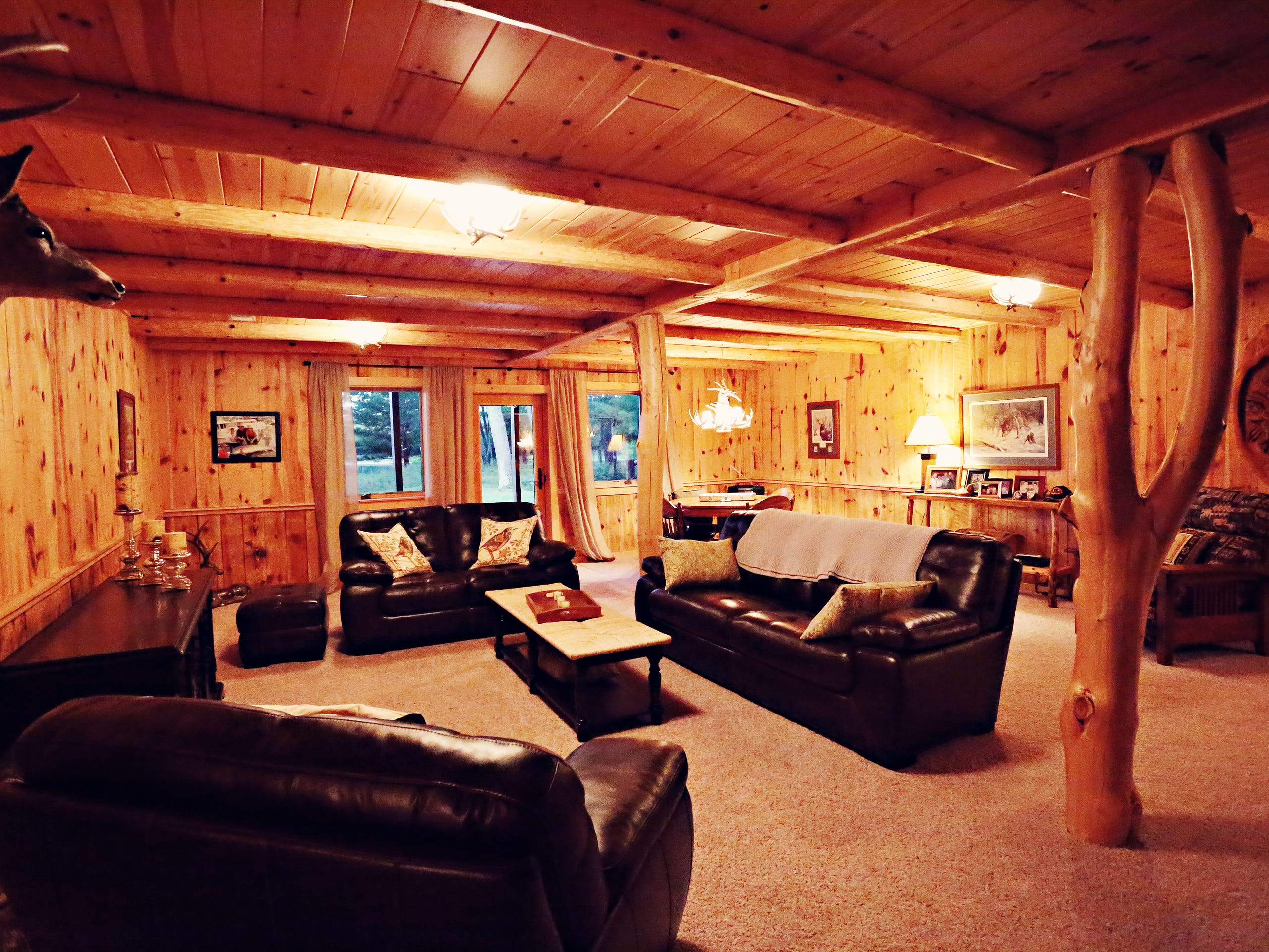 Known as the Double Eagle Ranch, the property covers 2,280 acres and located on Sargent Road near where Maple Valley and Round Lake roads meet in Gladwin. Gladwin, in Roscommon County, is about 160 miles northwest of Detroit.