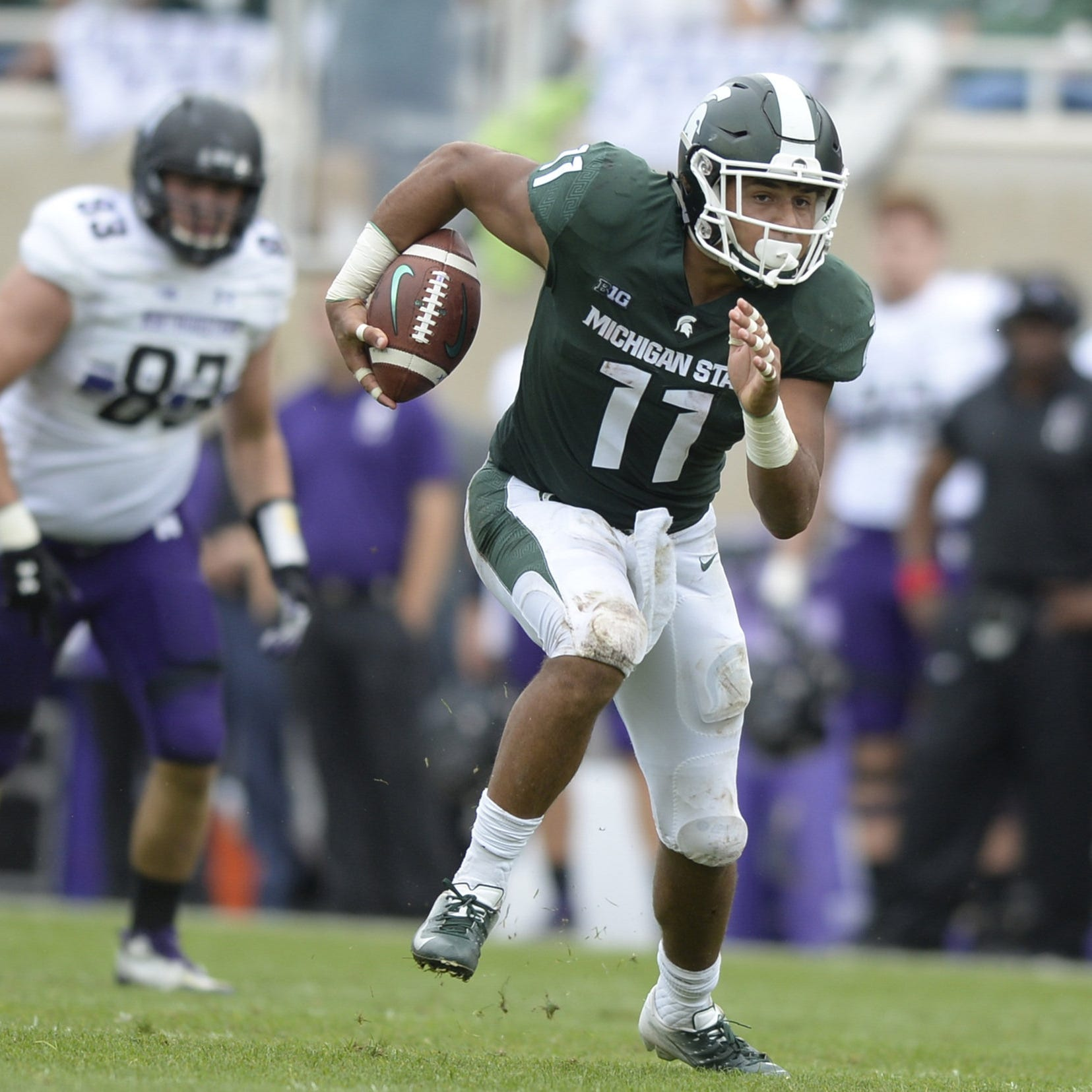 Michigan State auditions cavalcade of prime candidates at tailback