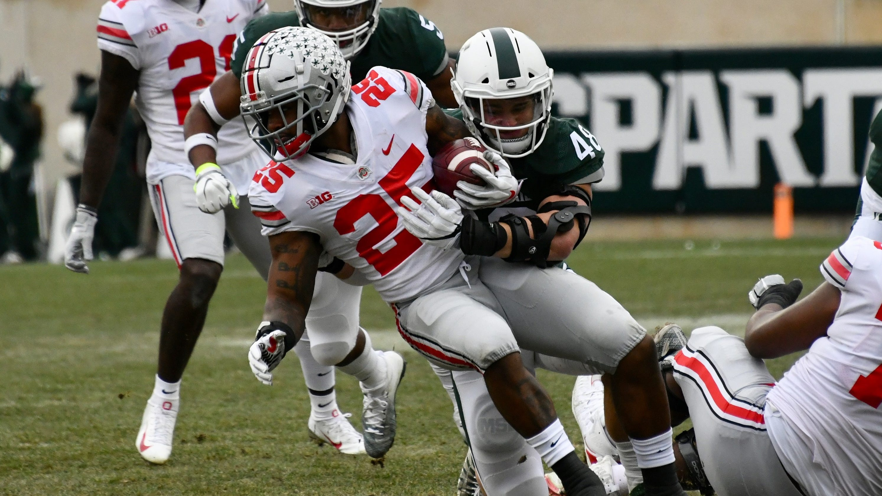 cc84e0908df 'Pretty embarrassing': Michigan State offense sputters in loss to Ohio State