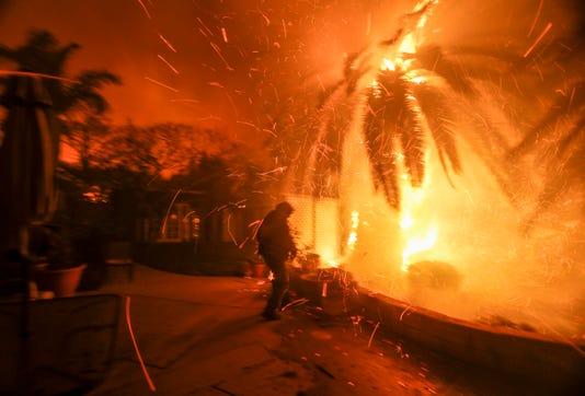 Malibu fires