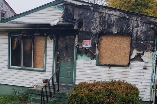 Alene Purnell-Hilliard's Pontiac home was ravaged in a fire Oct. 28, forcing the family to seek help.