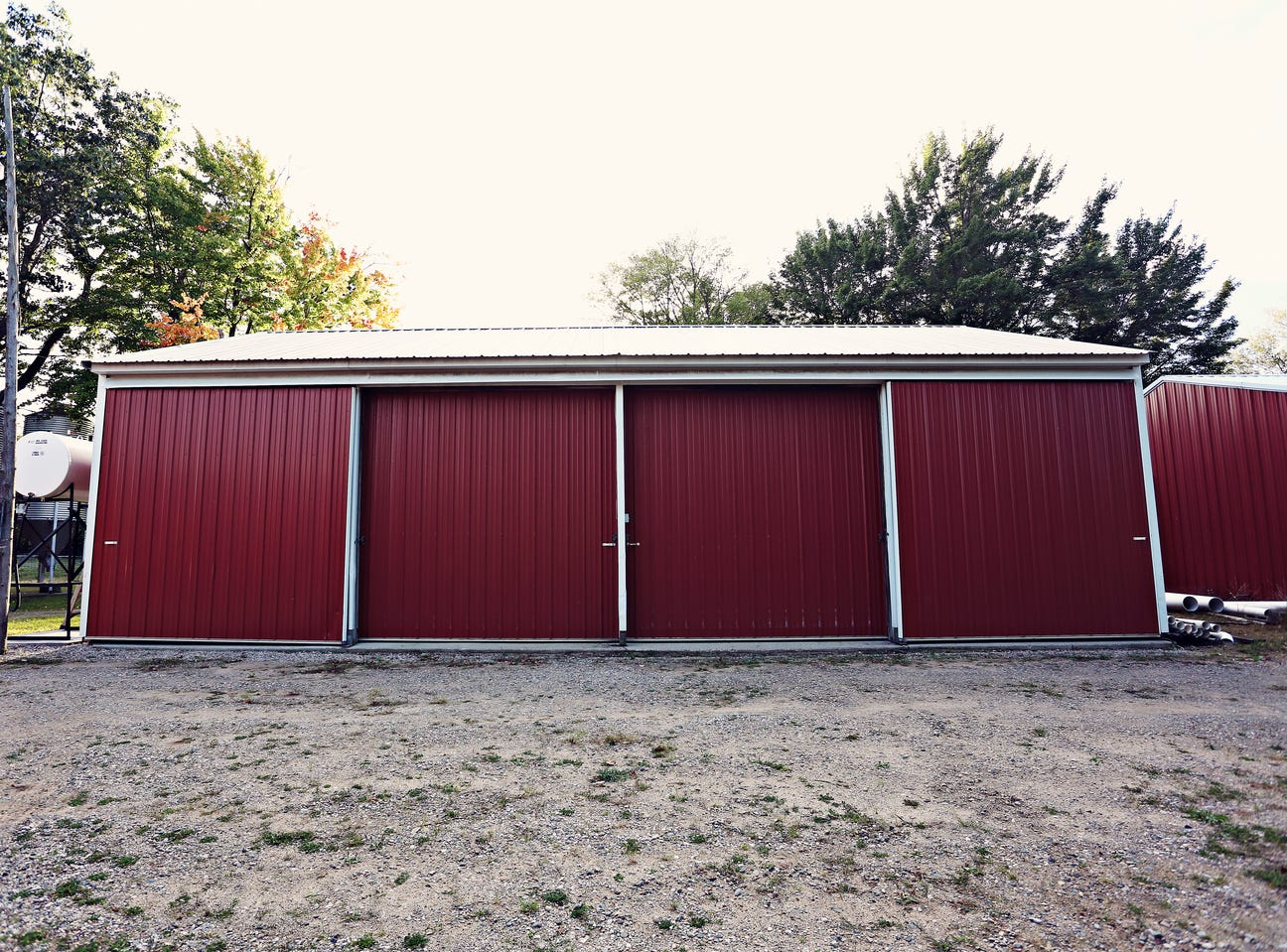 """""""It's very unique and there are multiple homes and multiple pole barns on the property,"""" said Kyle O'Grady, the Realtor who listed the property."""