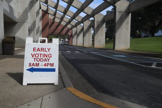 Early Voting Tallahassee 102218 Ts 006