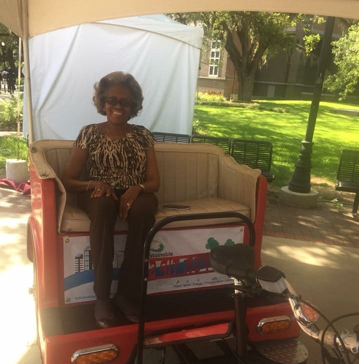 Catch a ride with Capital City Pedicabs