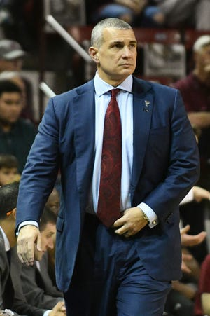 South Carolina coach Frank Martin and the Gamecocks dropped to 3-3 after losing to Wofford Monday night.