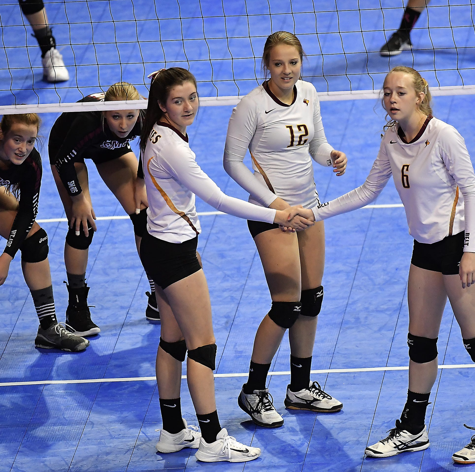 All-class volleyball: Belt claims State C championship