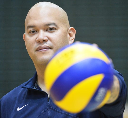 After coaching both the men and women for Guam's National Volleyball Teams, Mike Rabago now focuses solely on the women's team for the 2019 Pacific Games July 7-20 in Samoa.